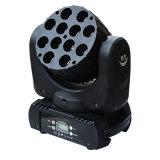 10*12W LED Pixel, das bewegliche Hauptlichter, RGBW 4in1 Magiepanel des Träger-LED abbildet