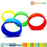 Wristband elegante programable del silicón RFID de ISO18092 NFC NTAG213
