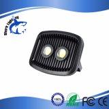 Del CREE alto LED indicatore luminoso di inondazione luminoso pesante nero del corpo 60W