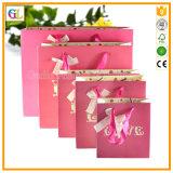 Bolso de empaquetado de papel de las compras de encargo