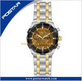 La montre des hommes de cadran de Meteorolit de nouveauté avec la fonction de chronographe