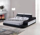 Американская кровать кожи спальни мебели дома типа
