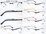 Blocco per grafici dell'acciaio inossidabile del Fashion Frames della signora con il tempiale della molla dell'acetato (MOD. 405)