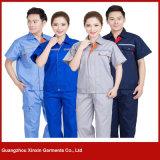 Uniforme fonctionnant bon marché en gros d'usine pour les hommes et les femmes (W53)