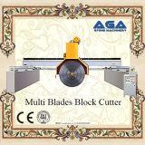 Máquina de pedra do corte por blocos das Multi-Lâminas com cortador do granito/o de mármore (DQ2200/2500/2800)