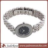 Edelstahl-wasserdichte Uhr der Dame-Sapphire Glass