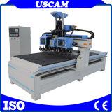 CNC ATC-Küche-Kabinettsbildung-Hersteller-Holzbearbeitung-Fräser-Maschine