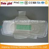 作動したカーボンチップ陰イオンの超薄い生理用ナプキンの生理用ナプキンのパッド