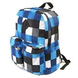 La mode contrôle le sac d'école d'élève de sac à dos de polyester