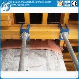 Molde de aço da laje do preço de fábrica com feixe da madeira H20