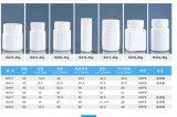 단단한 약, 환약을%s 75g HDPE 기울어지는 어깨 플라스틱 병은, 캡슐, 비타민 포장을을 메모장에 기입한다