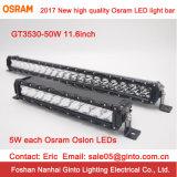 Barra chiara unica di disegno 50W 11.5inch Osram LED (GT3530-50)