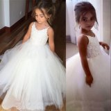 Customize Spaghetti Strap Princess Ball Gown Flower Girl Dress