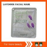Masque 100% facial en soie comprimé normal de rayonne de coutume