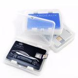 Bastone su ordinazione di memoria Flash del metallo del USB di figura della scheda di marchio 2GB 4GB