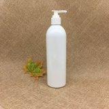 botella plástica redonda del aerosol del cilindro blanco del animal doméstico 400ml con el aerosol del disparador