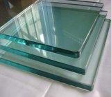 Vidro Tempered desobstruído para a placa de estaca/vidro de indicador de vidro
