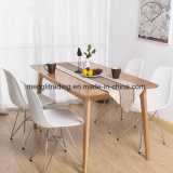 Знаменитым дизайнером Пластмассовые сиденья металлических ногой стул ресторан мебель