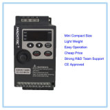 Mini convertitore VFD dell'invertitore di frequenza di formato compatto 220V 0.75kw 1.5kw