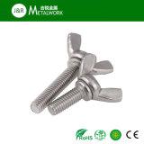 Boulon de guindineau d'acier inoxydable de SS304 SS316/boulon d'aile (DIN318)