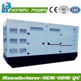 gruppo elettrogeno diesel insonorizzato silenzioso di 350kw 438kVA con il motore di Wudong