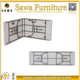 Tableau de pliage en plastique extérieur de HDPE de fabrication