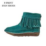 Haut de cuir de chaussures de gland de mode d'usine