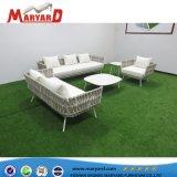 UV-Patio Resistace corde ensemble canapé mobilier extérieur Fauteuil inclinable canapé canapé Hotsale arabe