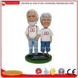 OEM personalizados Bobble chefe de Promoção de resina de dons Bobble Head Doll Polyresin Artesanato