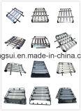 bagagli di alluminio del cestino della cremagliera di tetto