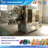 Flasche 150bpm Kurbelgehäuse-Belüftungshrink-Etikettiermaschine