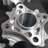 Анодированные части алюминия подвергли механической обработке CNC, котор