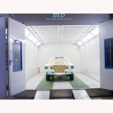 Используется автоматическое поддержание кабинета для покраски