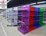 Сверхмощный стеллаж для выставки товаров полки супермаркета металла верхнего качества
