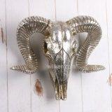 양 두개골 수지 가짜 박제술 벽 예술 훈장
