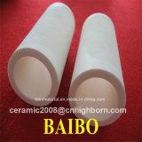 Tubo di ceramica dell'allumina di precisione 99%