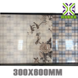 Azulejo de cerámica de la pared 30*60 del diseño de la flor de China