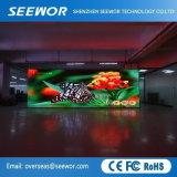 Hohe örtlich festgelegte farbenreiche LED videoinnenwand der Auflösung-P3 HD mit guter Qualität