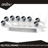 8CH HD 720p NVR exterior sem fios do kit de câmera de segurança CCTV Kit câmara IP