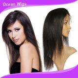 Alta calidad de la Virgen de Brasil el cabello humano encaje peluca
