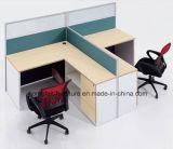 Het aangepaste Werkstation van het Bureau met de Cellen van de Computer van de Laden van het Dossier