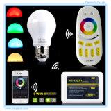 Lampadina chiara intelligente astuta di RGB della lampada di telecomando LED di WiFi