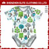 De pasgeboren Katoenen die van de Douane Kleren van de Baby in China worden gemaakt