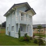 Casa prefabricada del panel de emparedado del marco de acero