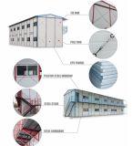 低価格のプレハブの鋼鉄建築材料熱絶縁されたEPSサンドイッチパネル