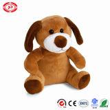 Super Soft Fancy Quality Sitting Brown Cute Puppy Dog Toy