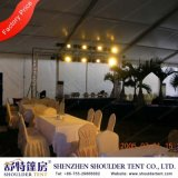 Lining Curtain Decoration를 가진 호화스러운 Outdoor Party Tents