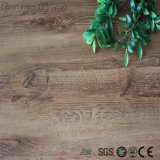 Bois de revêtements de sol en vinyle PVC autoadhésif Tile