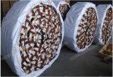 해양 안전 나무로 되는 페달 조종사 밧줄 사다리