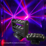 1명의 크리 말 LED Spider Beam Moving Head Light에 있는 8*10W RGBW Quad